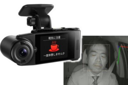 日本先锋推出网联双摄像头行车记录仪 配备驾驶员监控/ADAS功能