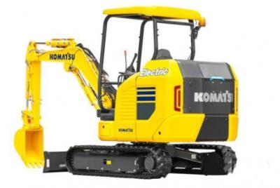 小松全球发布1款电动迷你挖掘机 为下一代工程机械设立新的创新方向