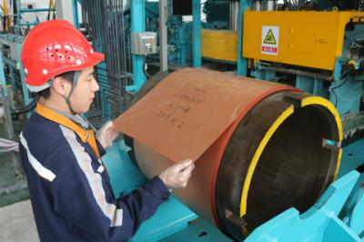 华中铜业生产出8微米高端合金压延铜箔 冲刺国际领先水平