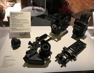 索尼推出4K摄像机等新品,亮相2019年NAB展会