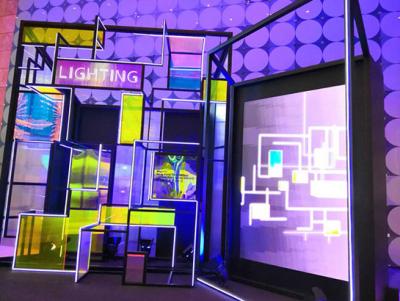 彩斓光电携轨道线性灯及高密集灯带惊艳亮相2019香港春灯展