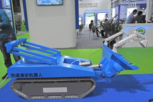 恒通环境自主研发新一代排口溯源机器人将于环博会首发