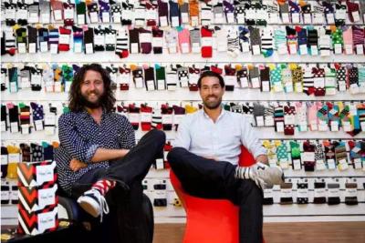 瑞典品牌Happy Socks把袜子变时尚潮品 年售1亿欧元