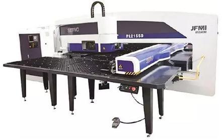 PL21550数控冲床-切割复合加工机主要技术参数、功能部件