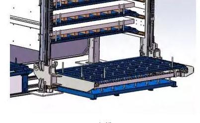料库系统如何使用电气的轴定位补偿功能保证托盘的平稳性
