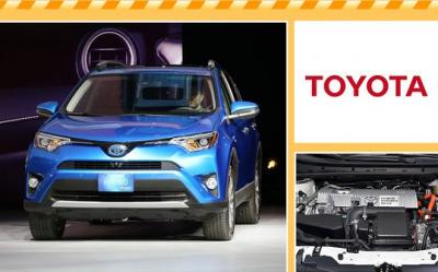 丰田推出全新混动版RAV4 采用最新四驱系统
