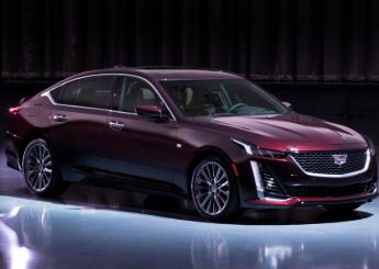 凯迪拉克运动型轿车CT5取代CTS首次亮相纽约车展
