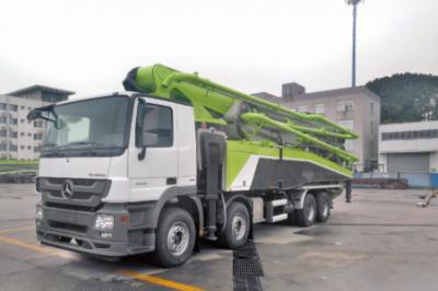 中联重科四桥63米七节臂泵车4.0系列新品交付