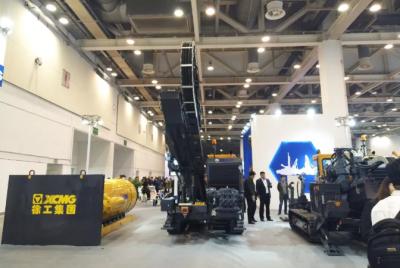 徐工XZ420E水平定向钻机等3款E系列新品亮相第23届中国国际非开挖展