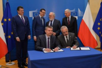 GAZ系统与欧盟签署2.15亿美元波罗的海管道建设工程的协议