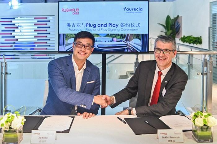 佛吉亚携手Plug and Play拓展中国市场 吸纳智享未来座舱新技术