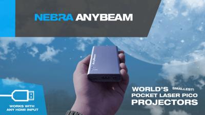 全球最小袖珍电影放映机Nebra Anybeam上线众筹 树莓派变成随身投影仪