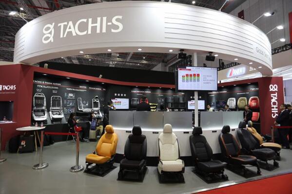 泰极爱思首次从幕后走向前台!汽车座椅未来愿景Concept X-4亮相上海车展
