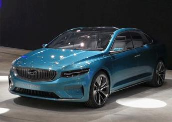 吉利Preface概念车于2019上海车展正式亮相,设计精致