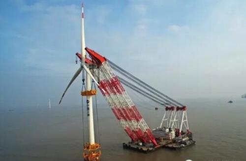 全国首个高桩承台近海风电场全面建成投产