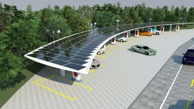 浙江省首个光储充一体化微网投运 日发电2000千瓦时