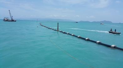 SCG化学公司PE112树脂首次应用于泰国海底输水管道
