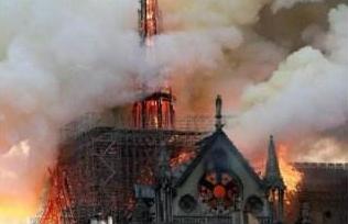从巴黎圣母院大火看古建筑照明如何防火?