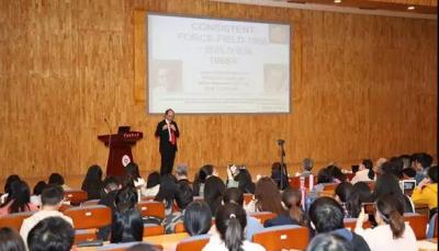 诺贝尔奖得主Michael Levitt在中国药科大学设工作站并演讲