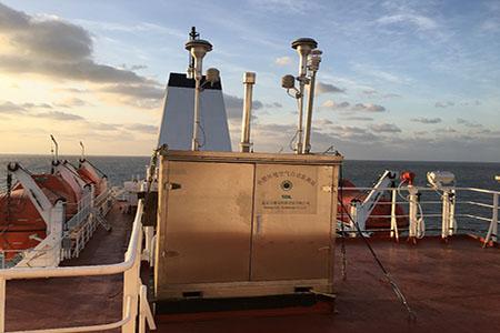 雪迪龙小型环境空气自动监测站开展我国近海海域大气污染物走航观测研究