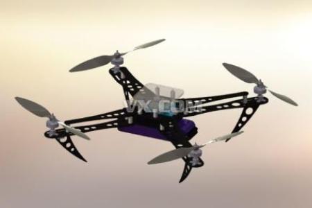 四旋翼无人机原理、控制系统、参数、使用方法