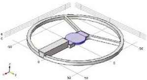 意法半导体使用Multiphysics模拟软件研发新品,嵌入式传感器监测混凝土健康状况