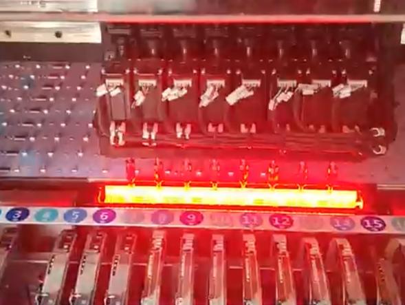 线性方案灯条贴片机,国产汉诚通科技贴片机