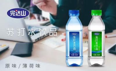 苏打水市场快速成长,完达山苏打水也面世