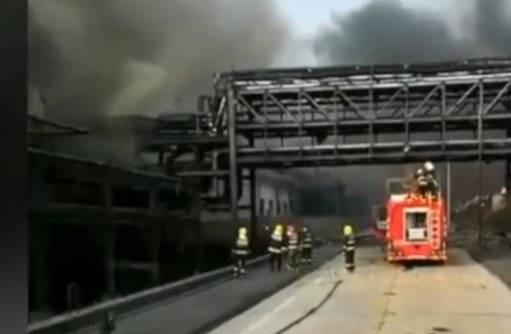 内蒙古东兴化工厂爆燃事故环境监测工作已及时开展 或与氯乙烯泄漏有关