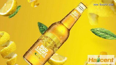 """百威推出新品""""柠檬茶""""啤酒,让你的味觉体验不一样的味道"""