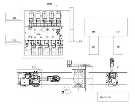 铝合金快速锻造液压机的主要技术特点及方案