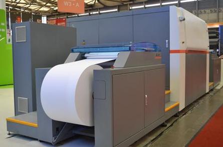 上市公司长虹空调包装,由河北立飞公司2300x4000㎜超大高速印刷机承印!