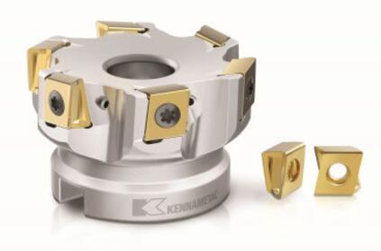 肯纳金属推出新一代切向方肩铣刀Mill 4-12KT 可降低刀具成本