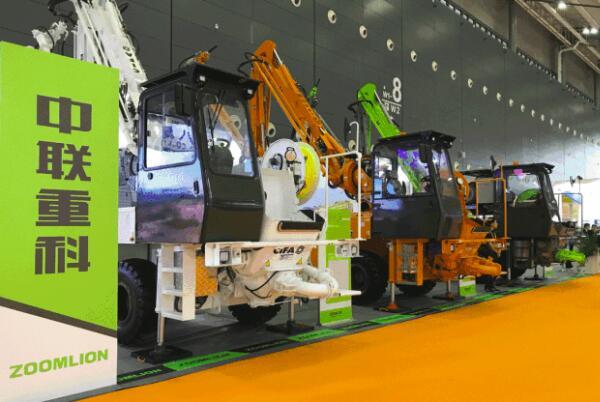 中联重科高空作业机械赢3亿大单 首日15亿订单引爆长沙展