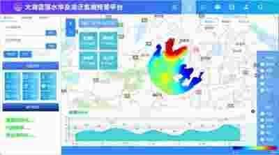 新一代太湖蓝藻水华及湖泛监测预警新平台启动试运行