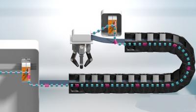 德国igus全球首款智能监控拖链系统总线电缆 可提前预警故障机器