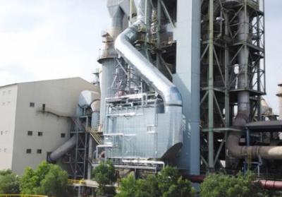 余热发电系统窑尾锅炉高温回灰处理技术