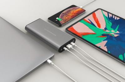 Hyper开卖业内首款支持100W输出的USB-C移动电源
