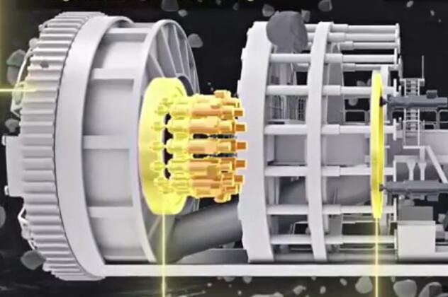 一个动画看懂隧道挖掘机的构造,又长知识了