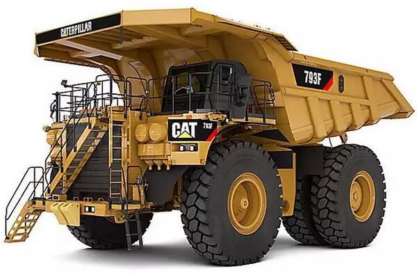 卡特彼勒20辆CAT?无人驾驶矿卡助力力拓集团首个自动化矿山项目