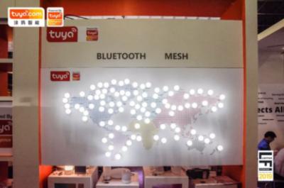涂鸦智能亮相美国照明展,首推智能无线商业照明方案