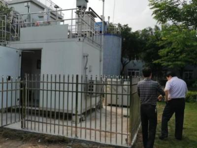 泸州市首个辐射环境自动监测站在纳溪区建成通过验收检查