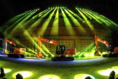 华北利星行机械北京新总部开业暨新一代Cat®349智能挖掘机全球首发