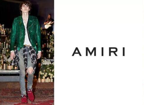 摇滚风时尚品牌 Amiri出售少量股权给OTB 资金用于开设独立零售店