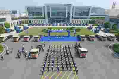 徐工重卡交付国内首批超大扭矩纯电动智能环保渣土车 系工程型创新产品