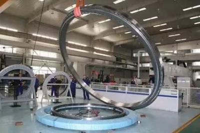 瓦轴集团为日本名企研发的五联配对角接触球轴承顺利出产