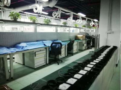 航天易联筹建的激光气体传感器生产基地亦庄博电新厂房投产