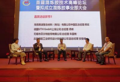 首届混炼胶技术高峰青青草免费观看成功举办 共同研讨混炼胶企业未来发展