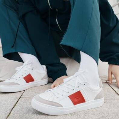 LACOSTE推出全新COURTLINE动感撞线系列运动鞋