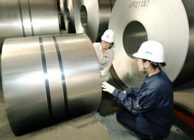 首卷轻质双相钢于鞍钢下线 密度相比传统双相钢减轻5%